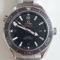 Omega Seamaster Planet Ocean Сталь 45,5mm Черный Aрабские