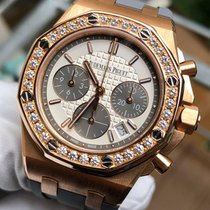 Audemars Piguet Royal Oak Offshore Lady Rose gold 37mm Silver No numerals United Kingdom, London