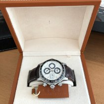 Ebel 1911 Discovery Steel 43mm Silver No numerals