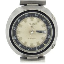Elgin Steel 43mm Automatic 1501 pre-owned United States of America, New York, New York