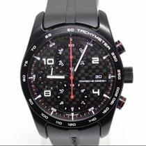 Porsche Design Chronotimer Titanium 42mm Black Arabic numerals