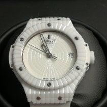 Hublot Big Bang Caviar Cerâmica 41mm Branco Sem números