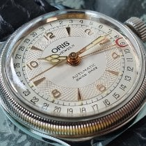 Oris Big Crown Pointer Date Steel White Arabic numerals