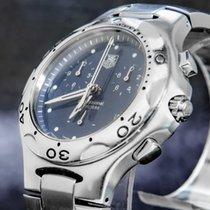 TAG Heuer Kirium Acero 38mm Azul Sin cifras