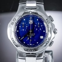 TAG Heuer pre-owned Quartz 38mm Blue Sapphire crystal