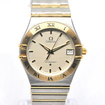 Omega 1212.30.00 Gold/Steel Constellation 35mm pre-owned