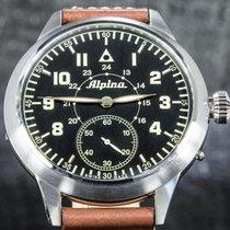 Alpina Steel 50mm Manual winding AL435LB4SH6 pre-owned