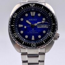 Seiko King Acier 45mm Bleu