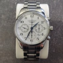 Longines Master Collection pre-owned Silver Chronograph Date Steel