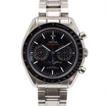 Omega Speedmaster Professional Moonwatch Moonphase Acier 44mm Noir Sans chiffres