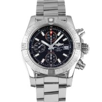 Breitling Avenger II Steel 43mm Black Arabic numerals United States of America, Maryland, Baltimore, MD