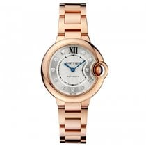 Cartier Ballon Bleu 33mm Rose gold 33mm Silver United States of America, California, SAN DIEGO
