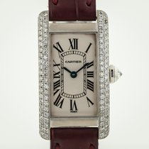 Cartier Tank Américaine White gold 19mm Silver Roman numerals United States of America, California, Pleasant Hill