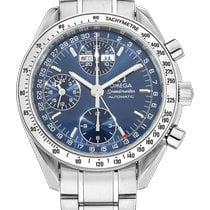 Omega Speedmaster Day Date Steel 39mm Blue No numerals United States of America, California, SAN DIEGO