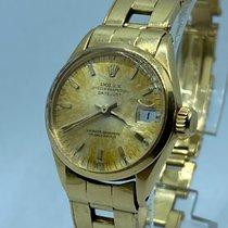 Rolex Oyster Perpetual Lady Date Aur galben 25mm Auriu Fara cifre România, Gruni
