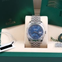 Rolex Datejust Steel 41mm Blue No numerals United States of America, California, Beverly Hills