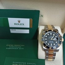 Rolex Submariner Date Gold/Steel 40mm Black No numerals Malaysia, Puchong