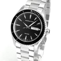 Hamilton Jazzmaster Seaview Steel 42mm Black