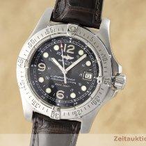 Breitling Superocean Steelfish Steel 44mm Black