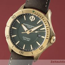 Baume & Mercier Bronze Automatic Green 42mm pre-owned Clifton
