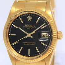 Rolex Oyster Perpetual Date Yellow gold 34mm Black No numerals United States of America, Florida, Boca Raton