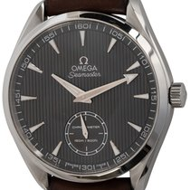 Omega Seamaster Aqua Terra pre-owned 49mm Grey Leather
