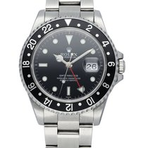 Rolex 16700 Steel 1999 GMT-Master 40mm pre-owned United States of America, New York, New York