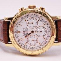 Zenith El Primero Chronograph pre-owned 36mm White Leather