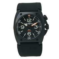 Bell & Ross BR 02 Steel 46mm Black Arabic numerals United States of America, New York, New York