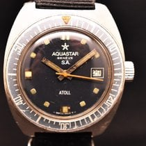 Aquastar Steel Automatic Black pre-owned
