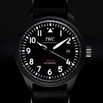 IWC Pilot Chronograph Top Gun Ceramic 41mm Black Arabic numerals