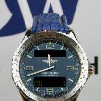 Breitling Chronospace Сталь 41mm Синий Aрабские