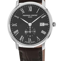 Frederique Constant Slimline new Quartz Watch with original box FC-245BR5S6DBR