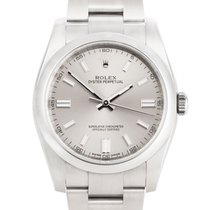 Rolex Oyster Perpetual 36 Steel 36mm Grey United Kingdom, London