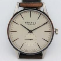 NOMOS Zürich Steel 39.8mm White No numerals