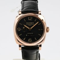 Panerai Red gold Automatic Black 45mm new Special Editions