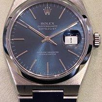 Rolex Datejust Oysterquartz Acier 36mm Bleu Sans chiffres