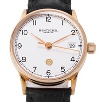 Hentschel Hamburg Yellow gold Automatic 25mm pre-owned