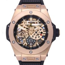 Hublot Big Bang Meca-10 usados 45mm Transparente Piel