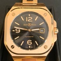 Bell & Ross Rose gold Automatic Black 40mm pre-owned BR 05