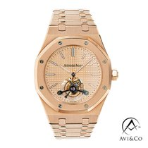 Audemars Piguet Royal Oak Tourbillon Rose gold 41mm Pink No numerals United States of America, New York, New York