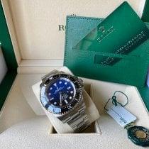 Rolex Sea-Dweller Deepsea Acier 44mm Bleu Sans chiffres