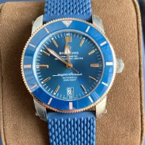 Breitling Superocean Heritage 42 Gold/Steel Blue