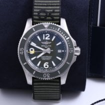 Breitling Superocean 44 Steel 44mm Green Arabic numerals United States of America, California, Beverly Hills