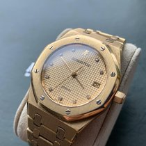 Audemars Piguet pre-owned Automatic 36mm Gold Sapphire crystal