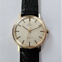 Omega Genève Yellow gold 34mm White No numerals