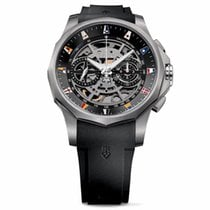Corum Admiral's Cup (submodel) Titanium 47mm Black No numerals