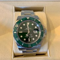 Rolex Submariner Date Steel 40mm Green No numerals United States of America, New Jersey, NUTLEY
