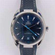 Omega Seamaster Aqua Terra Steel 41mm Blue No numerals United States of America, Florida, Sunny Isles Beach