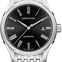 Hamilton Valiant Steel 40mm Black Roman numerals